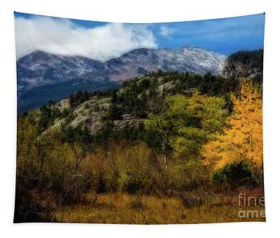 Hard Winter Coming Tapestry