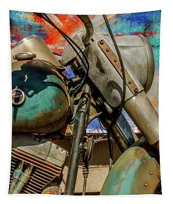 Harley Davidson - American Icon II Tapestry