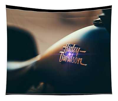 Harley Davidson Cycle Tapestry
