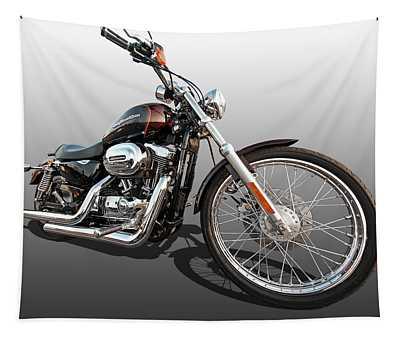 Harley Sportster Xl1200 Custom Tapestry