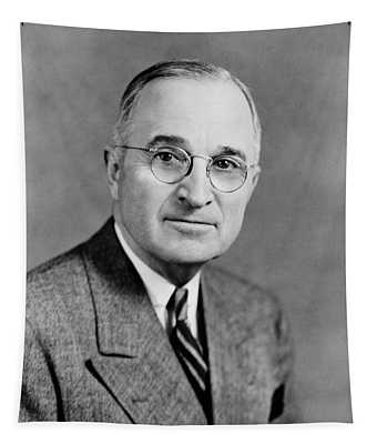 Harry Truman - 33rd President Of The United States Tapestry
