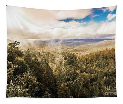 Hartz Mountains To Wellington Range Tapestry