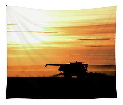 Harvest Burn Tapestry