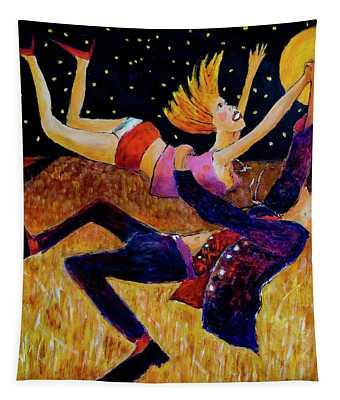 Harvest Moon Jive Tapestry