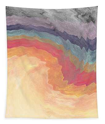 Harvest Wind- Abstract Art By Linda Woods Tapestry