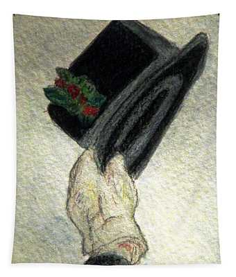 Hats Off To The Holidays Tapestry