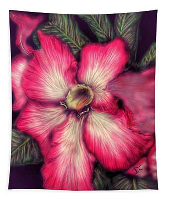 Hawaii Flower Tapestry