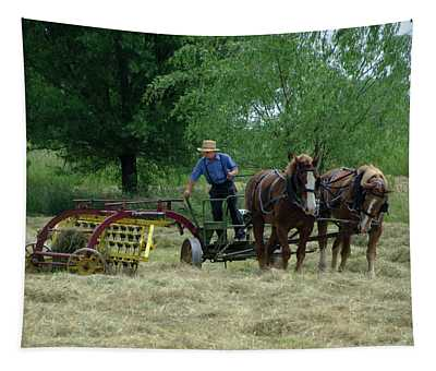 Haying Time Tapestry