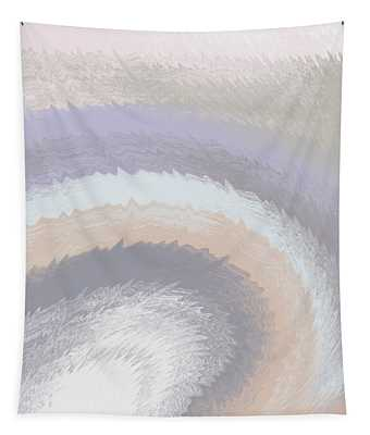 Hazy Morning- Abstract Art By Linda Woods Tapestry
