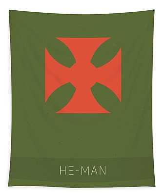 He Man My Favorite Tv Shows Series 010 Tapestry