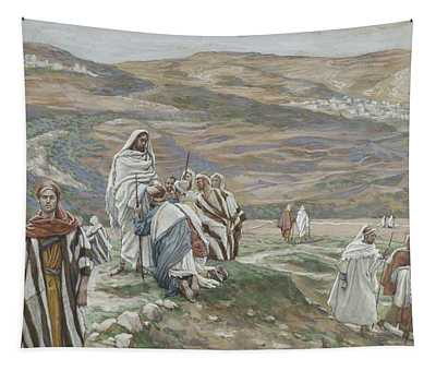 He Sent Them Out Two By Two Tapestry