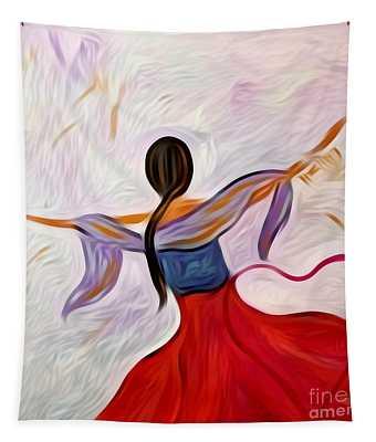 Healing Love Tapestry