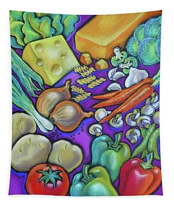Health Food For You Tapestry