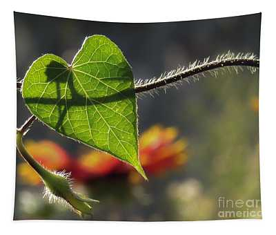Heart Leaf 1 Tapestry