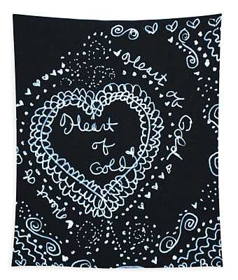 Heart Of Gold Tapestry