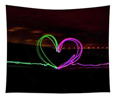 Hearts In The Night Tapestry