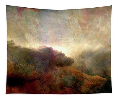 Heaven And Earth - Abstract Art Tapestry