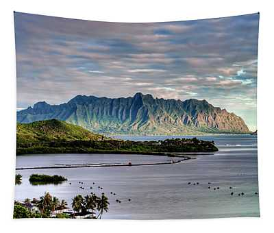 He'eia Fish Pond And Kualoa Tapestry