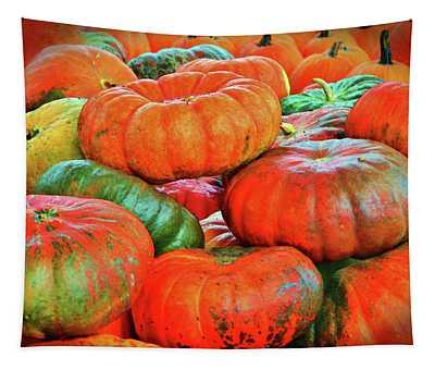 Heirloom Pumpkins Tapestry