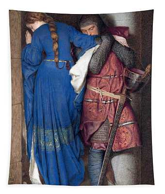Hellelil And Hildebrand Or The Meeting On The Turret Stairs Tapestry