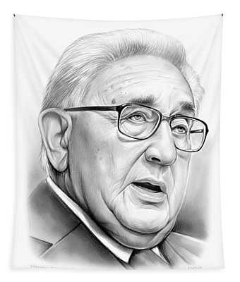Henry Kissinger Tapestry
