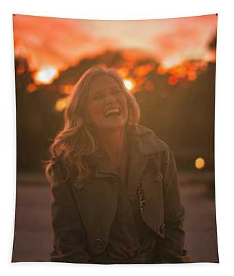 Her Laugh Tapestry