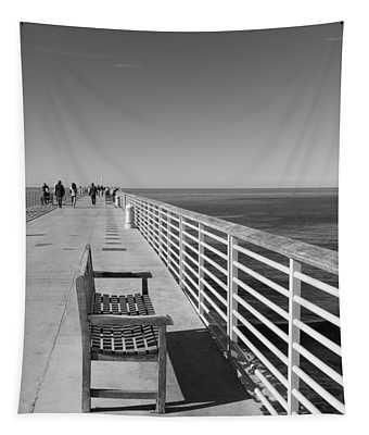 Hermosa Beach Seat Tapestry