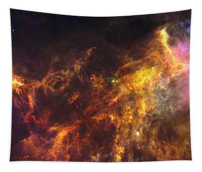 Herschel's View Of The Horsehead Nebula Tapestry