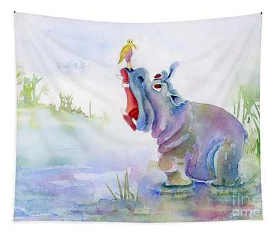 Hey Whats The Big Idea Tapestry