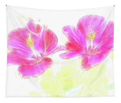 Hibiscus Light Tapestry