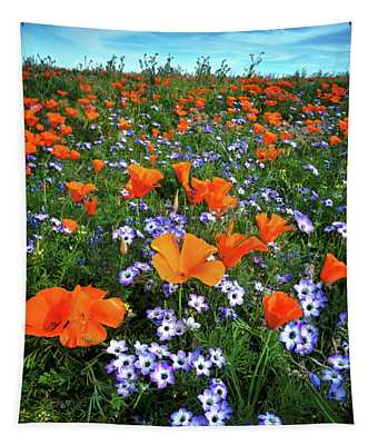 High Desert Wildflowers Tapestry