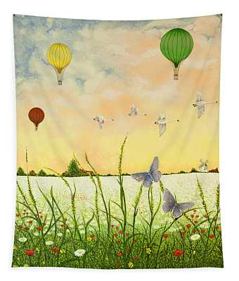 High Flyers Tapestry
