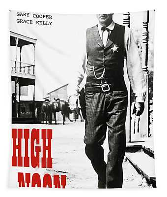 High Noon, Gary Cooper Tapestry
