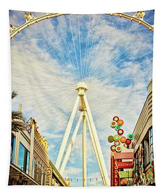 High Roller Wheel, Las Vegas Tapestry