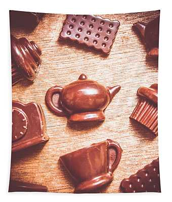 High Tea Snacks Tapestry