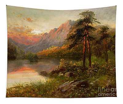 Highland Solitude Tapestry