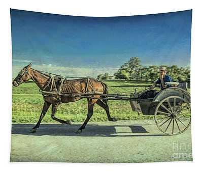 Heading Home Tapestry