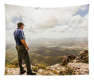 Hiking Australia Tapestry