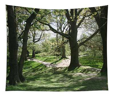 Hill 60 Cratered Landscape Tapestry