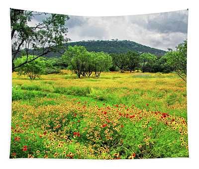 Hill Country Wildflowers Tapestry