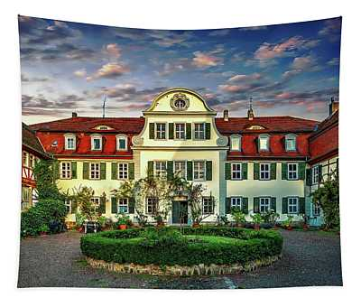 Historic Jestadt Castle Tapestry
