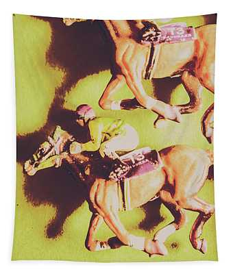 Historic Racing Competition Tapestry
