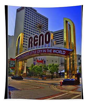Historic Reno Sign Tapestry