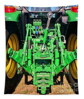 Hitch A Deere  Tapestry