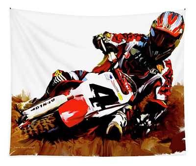 Motocross Wall Tapestries