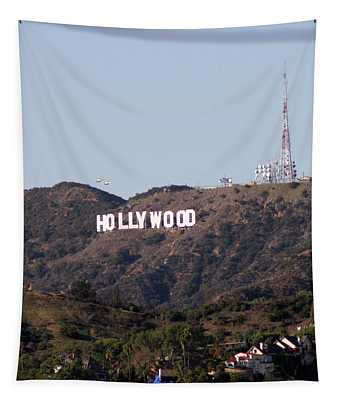 Hollywood And Helicopters Tapestry