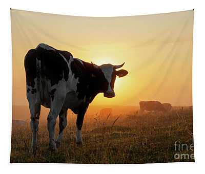 Holstein Friesian Cow Tapestry
