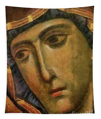 Holy Virgin Mary - The Filermo Virgin Icon Tapestry