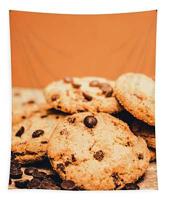 Home Baked Chocolate Biscuits Tapestry