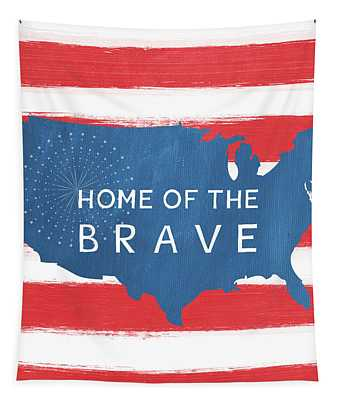 Home Of The Brave Tapestry